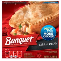Banquet Chicken Pot Pie, 7 Ounce