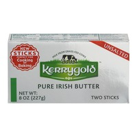 Kerrygold Pure Irish Butter Unsalted - 2 CT