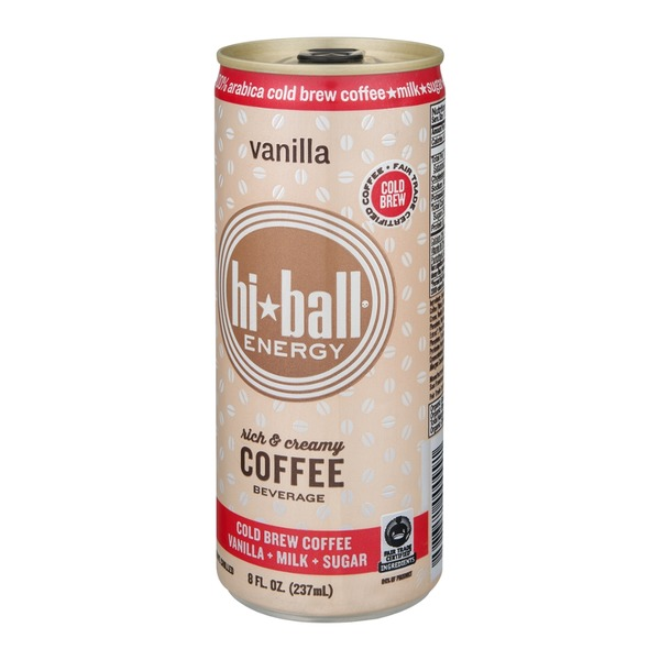 Hi-Ball Energy Coffee Beverage Vanilla