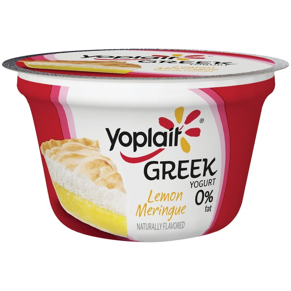Yoplait Greek Lemon Meringue Fat Free Yogurt