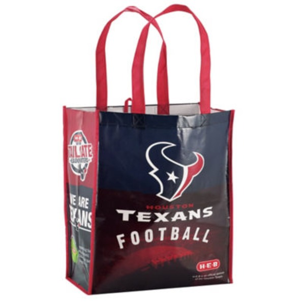 H-E-B Houston Texans Reusable Shopping Bag