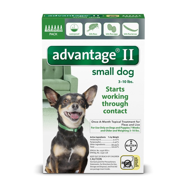 Advantage Ii Once A Month Topical Small Dog Flea Treatment