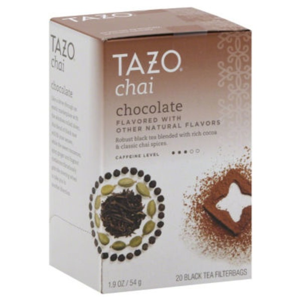 Tazo Tea Black Tea Chai Chocolate Tea Bags