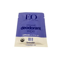 EO Organic Single Lavender Deodorant Wipe