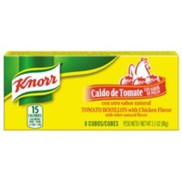 Knorr Tomato Chicken Bouillon Cubes