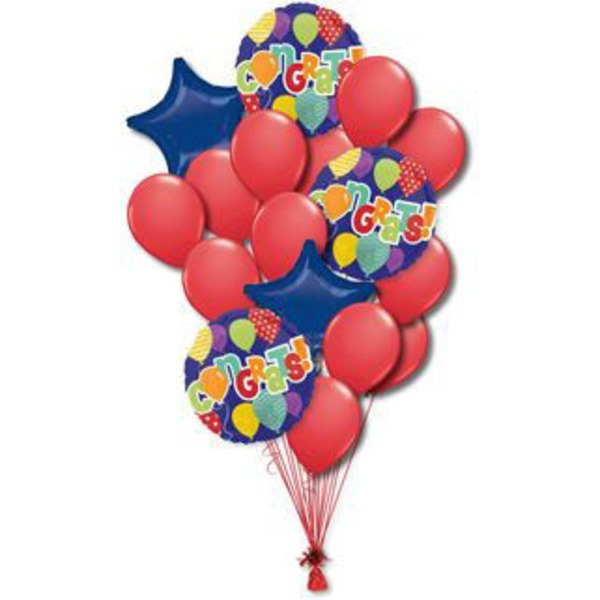 Congratulations Large Balloon Bouquet