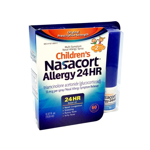 Nasacort Children's Allergy 24hr Multi-Symptom Nasal Spray