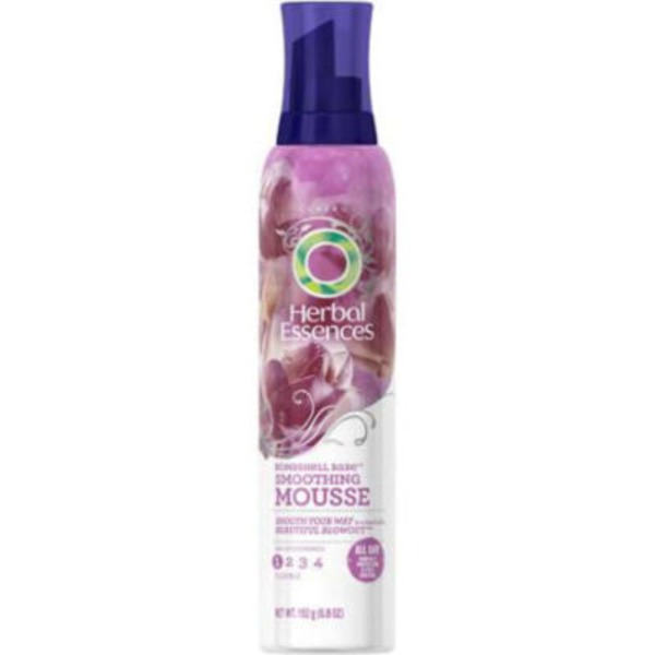 Herbal Essences Blowout Smooth Herbal Essences Bombshell Babe Smoothing Mousse 6.8 Oz  Female Hair Care