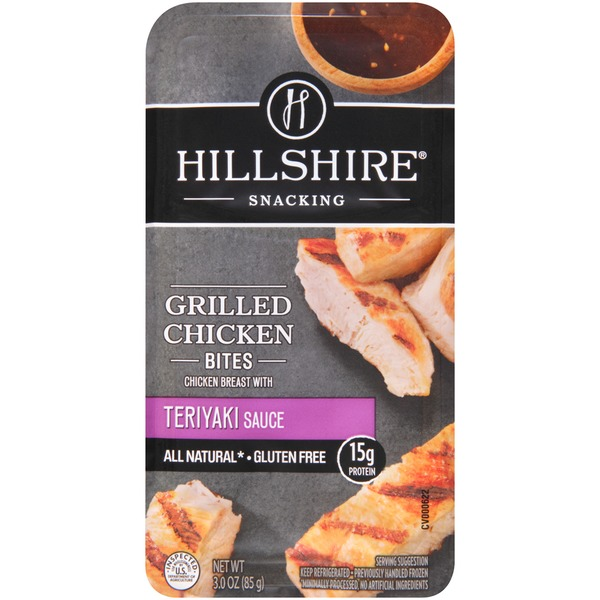 Hillshire Snacking Teriyaki Sauce Grilled Chicken Bites