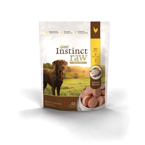 Nature's Variety Instinct Raw Chicken Formula