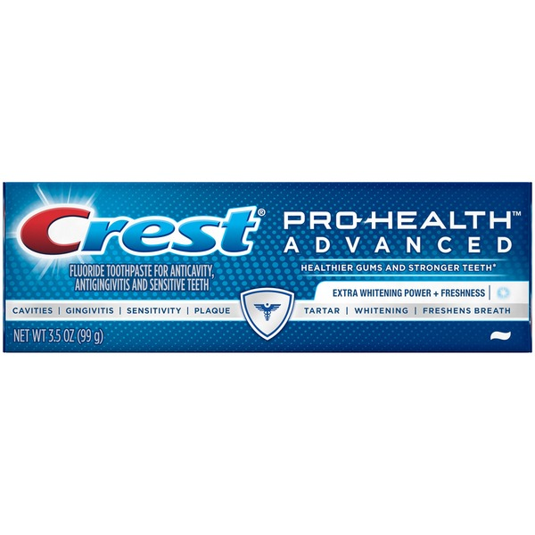 Crest Pro Health Crest Pro-Health Advanced Extra Whitening Power + Freshness Toothpaste 3.5 oz. Dentifrice