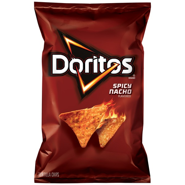 Doritos Spicy Nacho Tortilla Chips