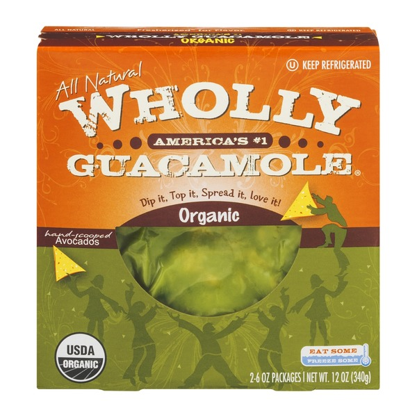 Wholly Guacamole Organic - 2 CT