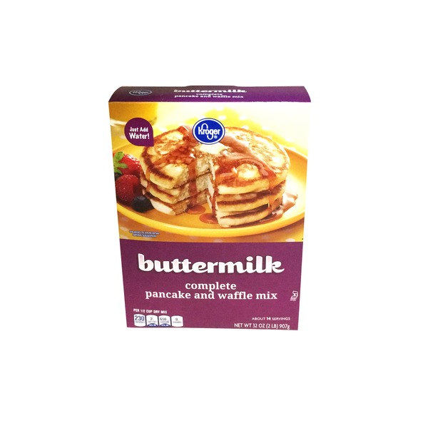 Kroger Buttermilk Complete Pancake And Waffle Mix