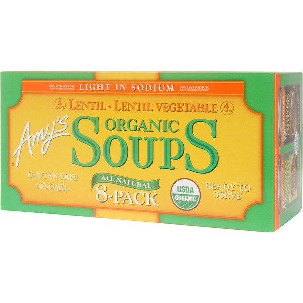 Costco Amys Organic Lentil Vegetable Soup Delivery Online In Austin