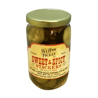 Yee Haw Pickle Co. Sweet & Spicy Stackers Pickles