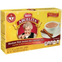 Nestle ABUELITA Mexican Style Instant Hot Chocolate Mix 8-1 oz. Packets