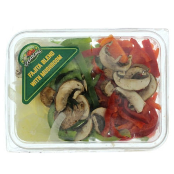 Country Fresh Creations Fajita Blend Vegetables With Mushroom