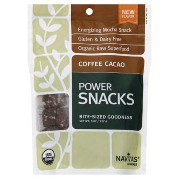 Navitas Naturals Coffee Cacao Power Snacks