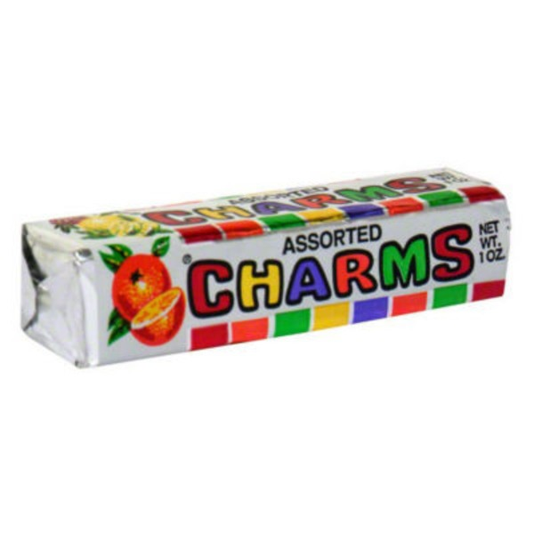 Charms Assorted Candy Roll