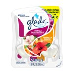 Glade Plug In Refill, Vanilla Passion Fruit & Hawaiian Breeze, 1.34 Fl. Oz. (Pack of 2)