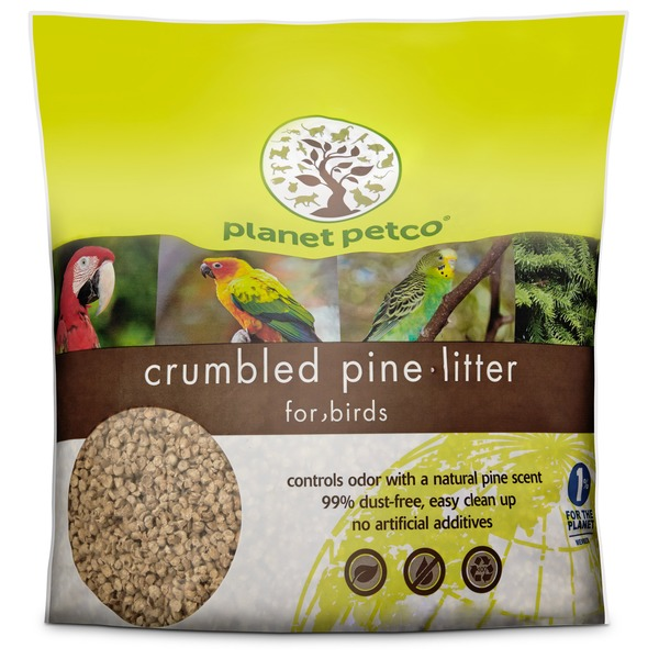 Plantet Petco Crumbled Pine Litter for Birds