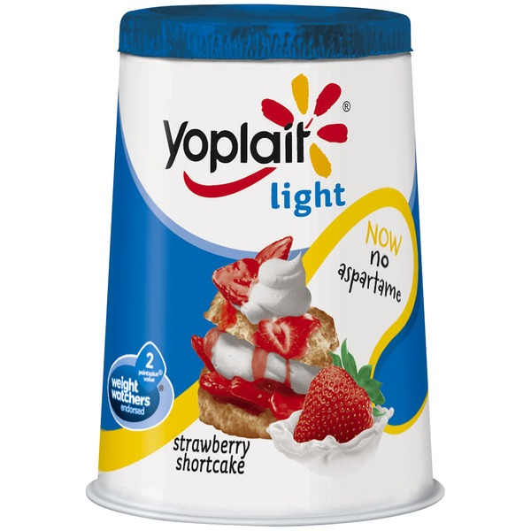 Yoplait Light Strawberry Shortcake Fat Free Yogurt