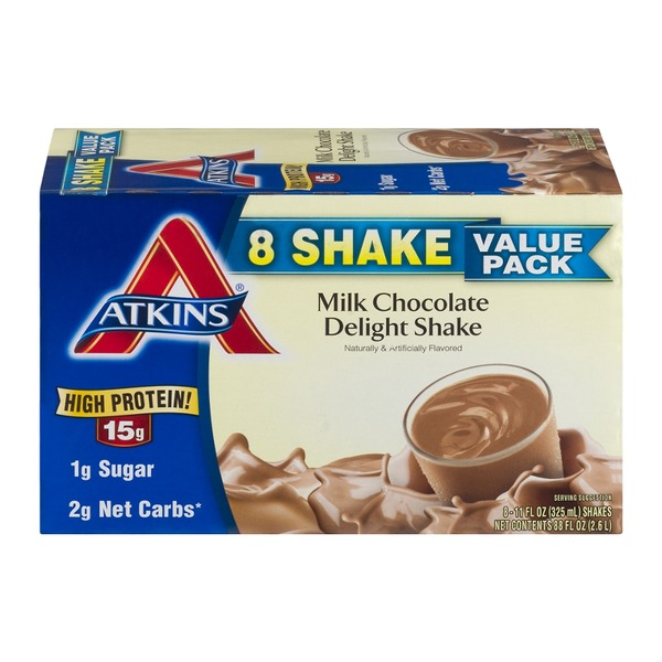Atkins Milk Chocolate Delight Shakes