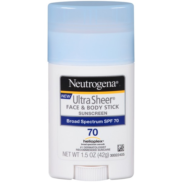 Neutrogena® Ultra Sheer Stick SPF 70 Sunscreen