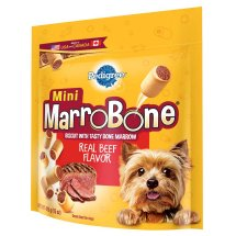 PEDIGREE MARROBONE Real Beef Flavor Toy/Small Snacks for Dogs 15 Ounces