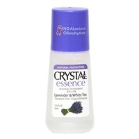 Crystal Essence Mineral Deodorant Roll-on Lavender & White Tea
