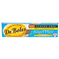 DeBoles Gluten Free Rice Plus Golden Flax Angel Hair Pasta