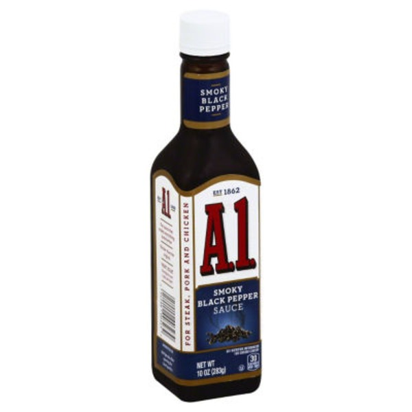 A.1. Smoky Black Pepper Sauce