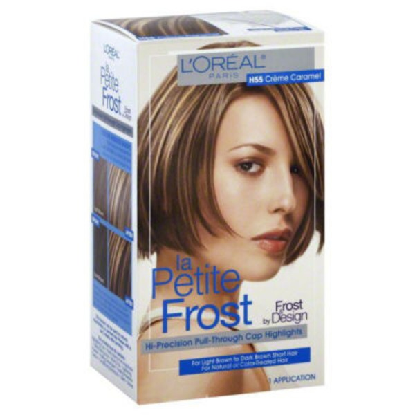 La Petite Frost Cap Highlights Hi-Precision Pull-Through Creme - Caramel H55