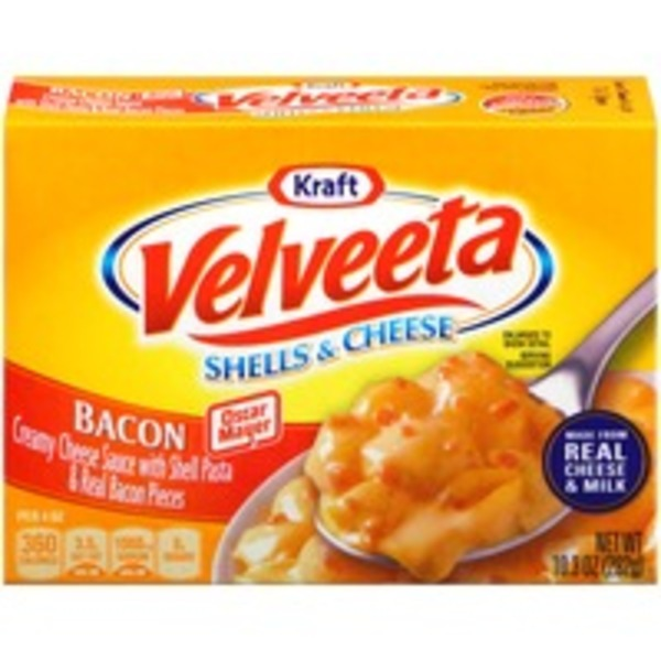 Kraft Dinners Velveeta Bacon Shells & Cheese