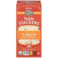 Lundberg Family Farms Thin Stackers Organic 5 Grain Grain Cakes
