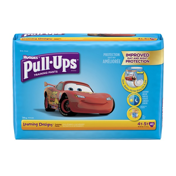 Pull Ups Learning Diapers 4 T 5 T Boy Big Pk