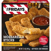 T.G.I. FRIDAY'S Mozzarella Sticks with Marinara Sauce
