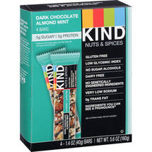 KIND Nuts & Spices Dark Chocolate Almond Mint Bars