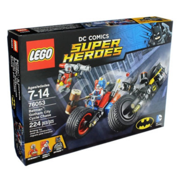 Lego Dc Comics Super Heroes Batman: Gotham City Cycle Chase
