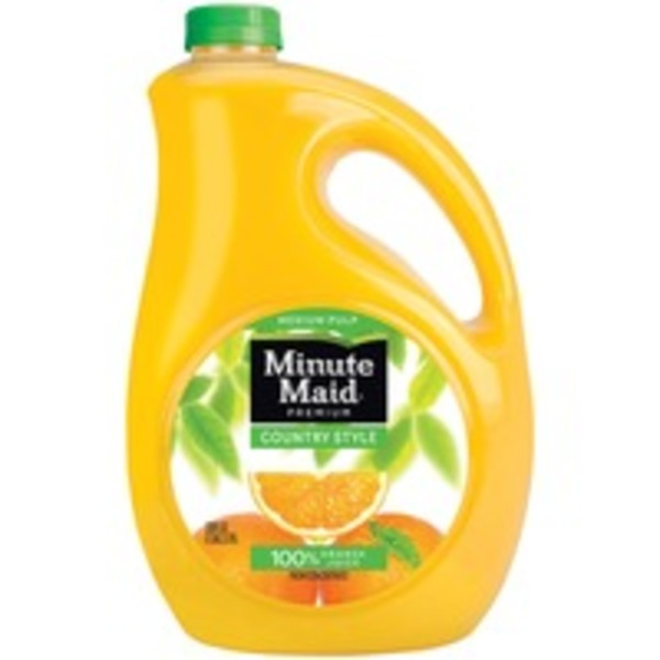Minute Maid Country Style Medium Pulp Orange Juice