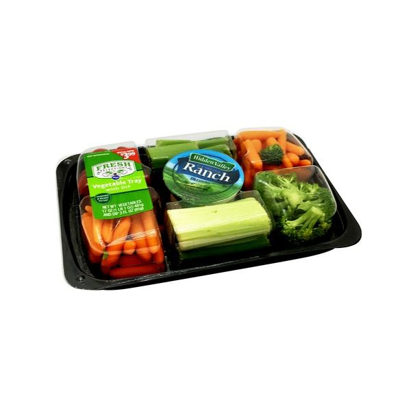 Kroger Fresh Selections Vegetable Tray With Dip