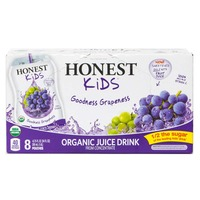 Honest Kids Goodness Grapeness Organic Juice Drink