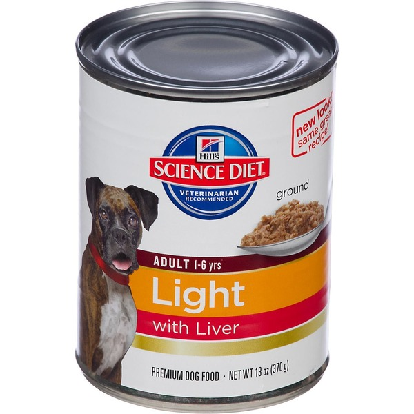 Hill's Science Diet Dog Food, Adult (1-6 Years), Light