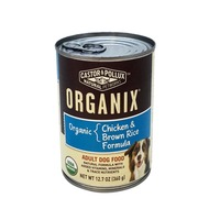 Castor & Pollux Organix Chicken & Brown Rice Formula Adult Dog Food