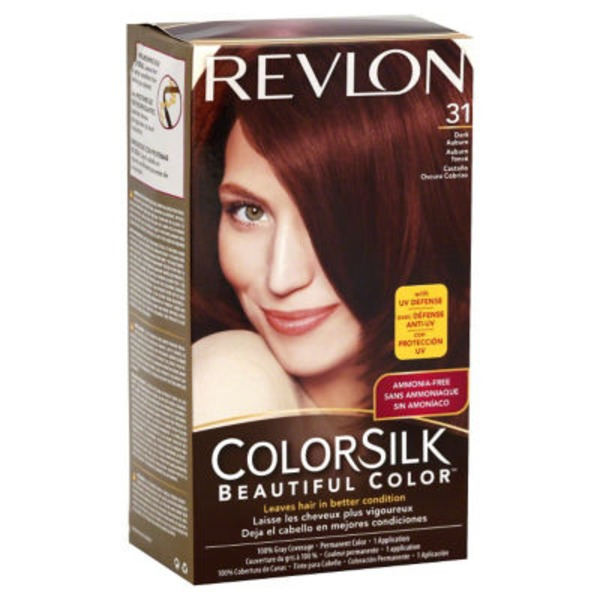 Revlon ColorSilk Hair Color - Dark Auburn