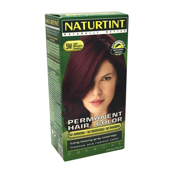 Naturtint Permanent Hair Colorant, 5M Light Mahogany Chestnut