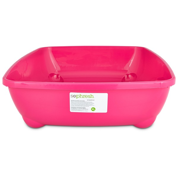 So Phresh Pink X Large Open Litter Box