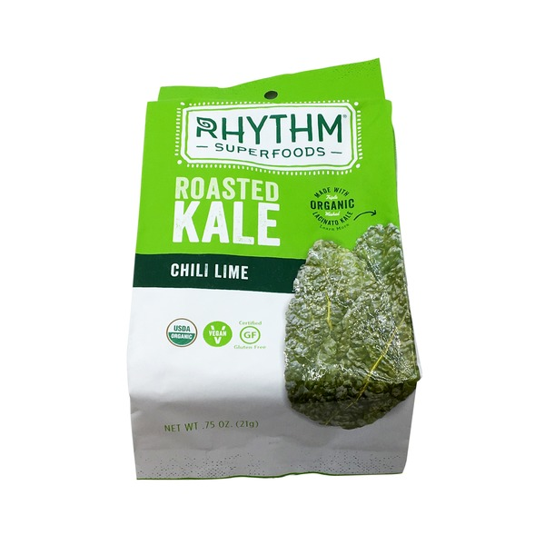 Rhythm Superfoods Roasted Kale Chili Lime