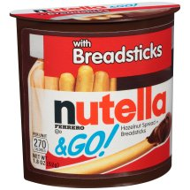 Nutella & Go! Hazelnut Spread with Breadsticks 1.8 oz. Pack